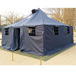 50 Person American Large Heavy Duty Canvas Army Medical Tent