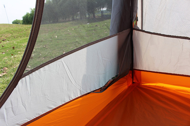 1-2 Person Double Layer Camping Tent with Mosquito Net