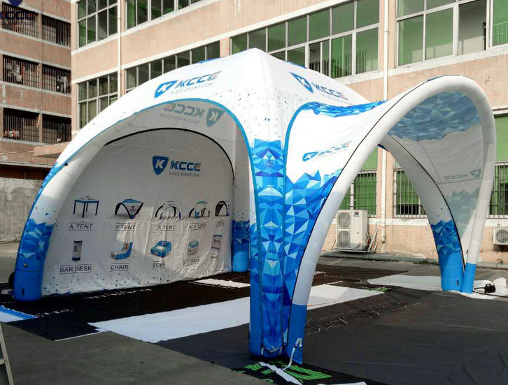 Custom Inflatable Dome Canopy Trade Show Booth Tent For commercial event